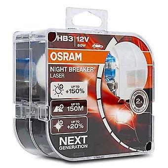 Ampoule automobile OS9005NL-HCB Osram HB3 60W 12V (2 Pièces)