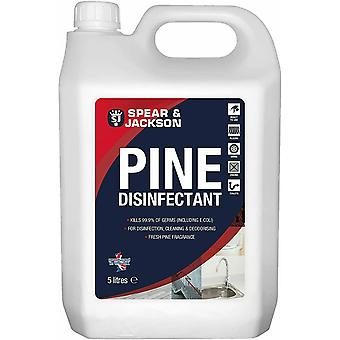 Spear and Jackson - Pine Disinfectant - 5L Concentrate