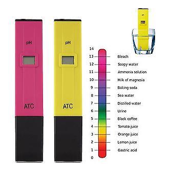 Digitális Ph Meter Tester Toll Zsebmérés Lcd Spa Akvárium Víz Haladó