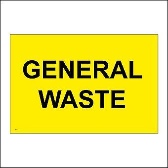 GE175 General Waste Sign
