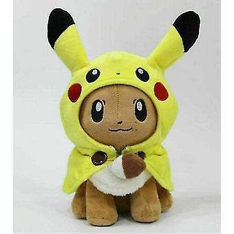 """12""""Pikachu Eevee Cosplay Plush Doll Teddy Nadziewane Miękkie Zabawki Dla Dzieci Prezent (Eevee)"""