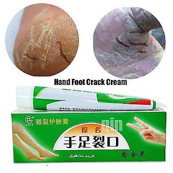 Pomada anti crack seca - Creme para o pé da mão esfoliante