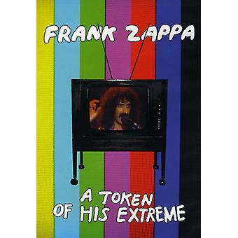 Frank Zappa - Token of His Extreme [DVD] USA import
