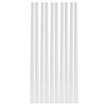 Porte-éprouvettes 10pcs transparent 300mm tube de soufflage de verre 1mm d'épaisseur paroi od 10mm
