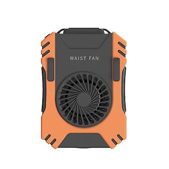 Draagbare elektrische ventilator persoonlijke hangende taille ventilator USB oplaadbare handheld lucht licht| Decoratieve ventilatoren