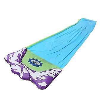 Double / Single Inflatable Water Slide Mat - Summer Waterskiing Splash Play