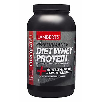 Lamberts Diet Whey Protein Chocolate 1000g