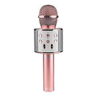 KTV-Bezdrátový Karaoke Mikrofon-Rosé