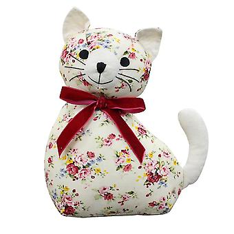 Holiday ornament displays stands novelty cat doorstop