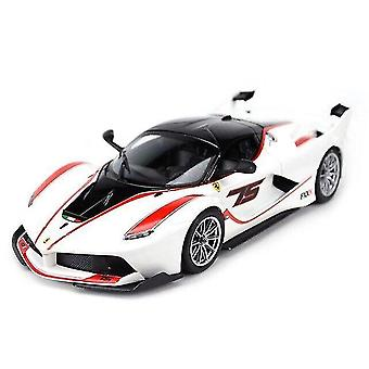 Toy cars ferrari fxx k sports car static die cast vehicles collectible model car toys white