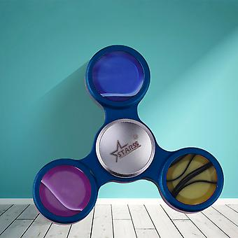 Tri-spinner Finger Toy Hand Spinner Anxiety Stress Relief Fingertip Toy Kids