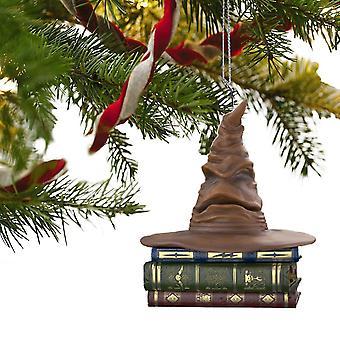 Julgran prydnadsdekoration Harry Potter sortering hatt