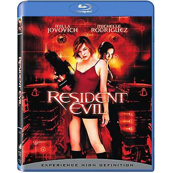 Resident Evil [BLU-RAY] USA import