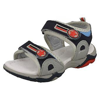 Jongens plek op dubbele riem sandalen N0010