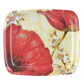 Bandeja de Scatter Pimpinela De papoula Villen melamina 20 x 17,5 cm