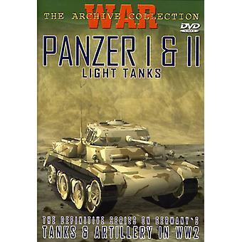 Panzer I & II-Light Tanks [DVD] USA import