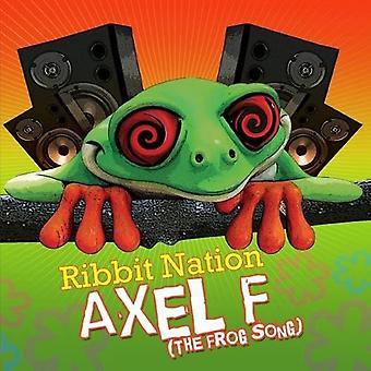 Ribbit Nation - Axel F (der Frosch Lied) [CD] USA Import
