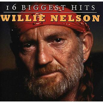 Willie Nelson - 16 största Hits [CD] USA import