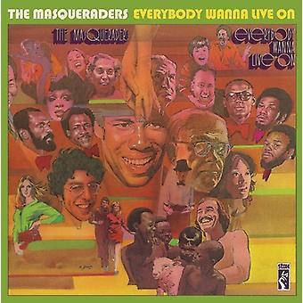 Masqueraders - kaikki haluavat Live [CD] USA tuonti