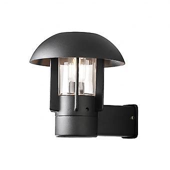 Konstsmide Heimdal Oriental Black Wall Lantern Light