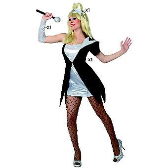Trajes de mulheres mulheres Pop star vestido de cantor