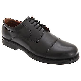 Scimitar Mens Capped Gibson Leather Shoes