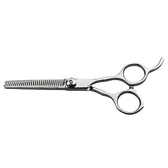 Groom Pro Allievo Stainless Steel Tension Pet Grooming Thinning Scissors, 6