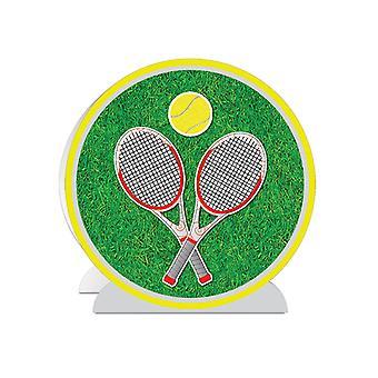 """3-D Tennis Centerpiece 10"""""""