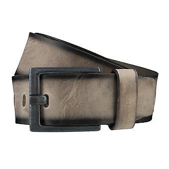 BERND GÖTZ belts men's belts leather belt Stone Brown 3722