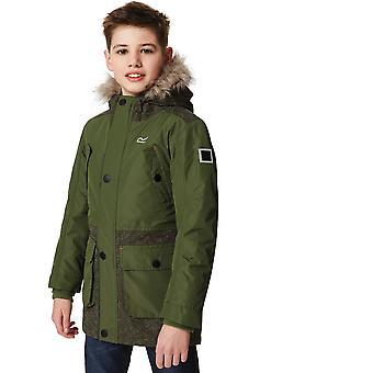 Regatta Boys & Girls Payton Breathable Waterproof Walking Parka Jacket