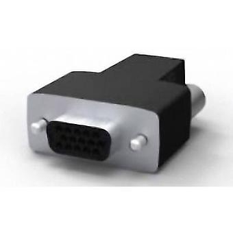 TE Connectivity AMPLIMITE HD-22 1658688-1 D-SUB socket Number of pins: 15 Crimp 1 pc(s)