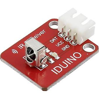 Iduino 1485317 IR receiver Suitable for (single board PCs) Arduino