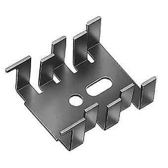 Fischer Elektronik FK 216 SA-CB Disipador de calor 15 K/W (L x An x H) 34 x 25,4 x 12,7 mm SOT 32, A 220