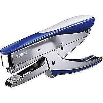 Mano de Leitz grapadora 5548-00-33 engrapado capacidad: 25 las hojas (80 g/m²) azul (metálico) 1 PC