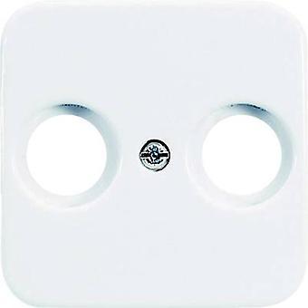Busch-Jaeger Cover TV, Radio socket Reflex SI, Reflex SI Linear Alpine white