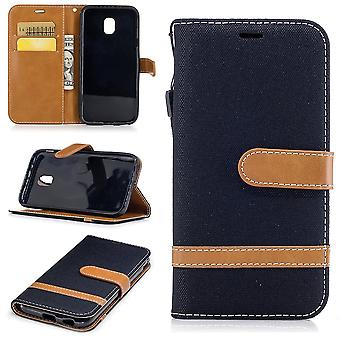 Case for Samsung Galaxy J3 2017 jeans cover cell phone protective cover case black