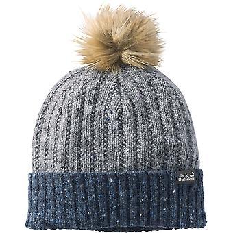 Jack Wolfskin ragazzi & ragazze Merino lana pelliccia Bobble Hat Cap