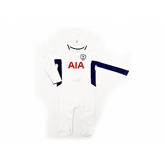 Tottenham Hotspur Kit Childrens/Kids Sleepsuit
