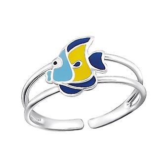 Fish - 925 Sterling Silver Rings - W20672x