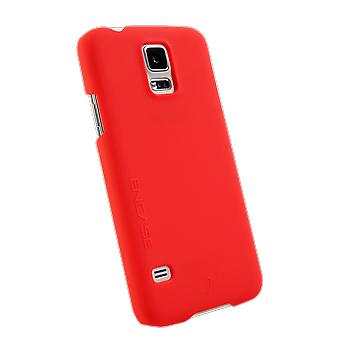 WirelessOne Encase Case for Samsung Galaxy S5 (Red)