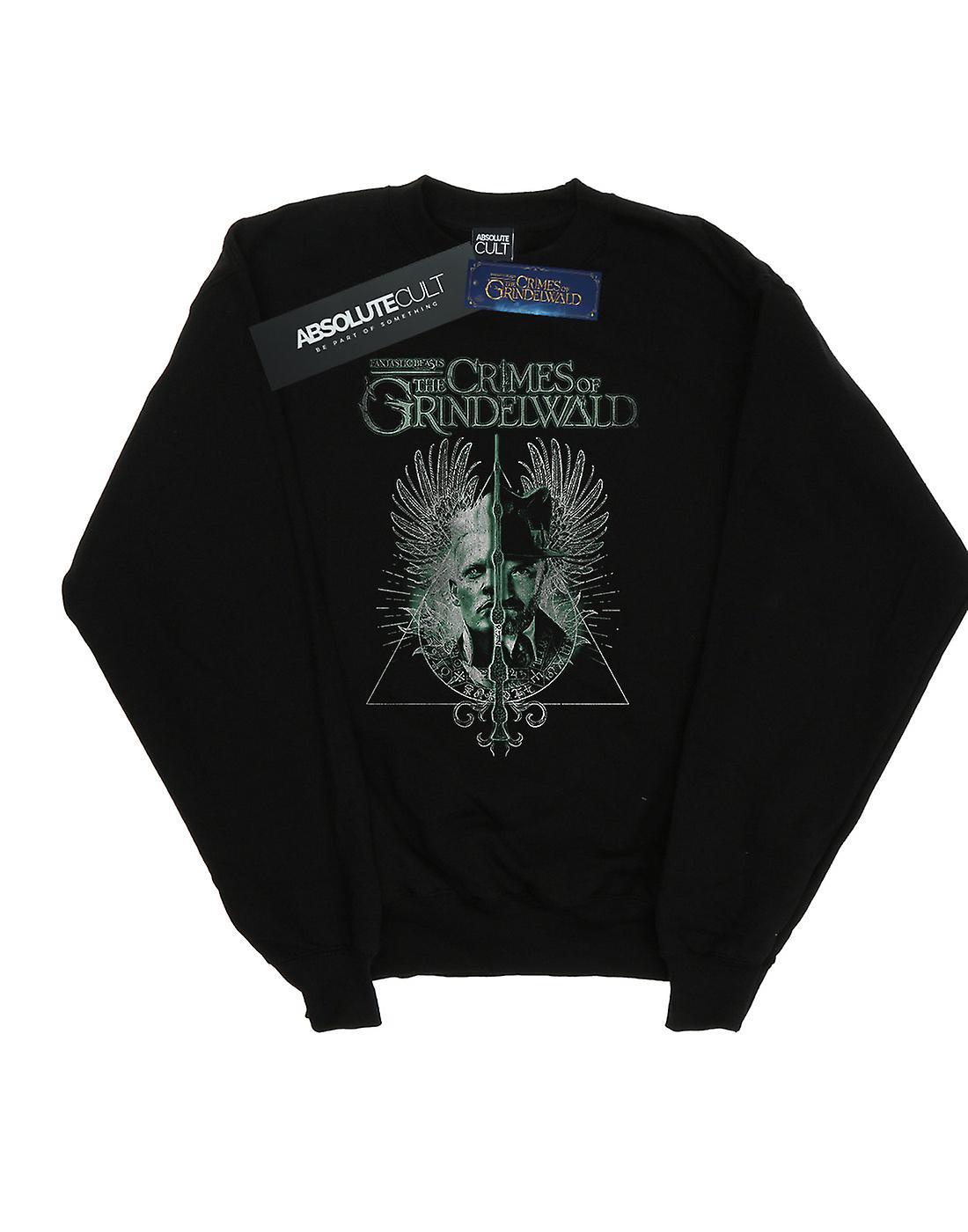 Fantastic Beasts Women's The Crimes Of Grindelwald Wand Split Sweatshirt