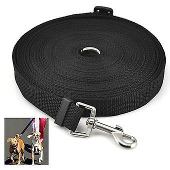 DIGIFLEX hundvalp Pet utbildning bly 50ft lång rad svart krage sele