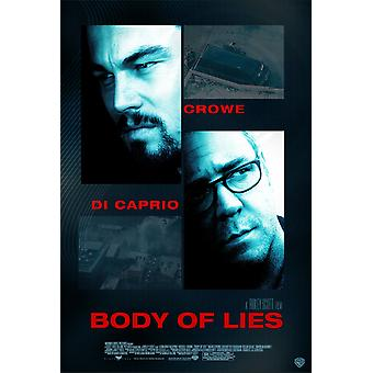 Body of Lies Movie Poster (11 x 17)