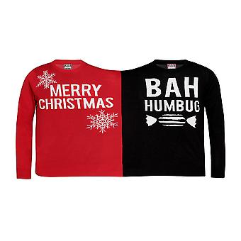 Christmas Shop Twin Christmas Humbug Jumper