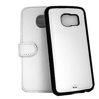 Wallet Case Samsung Galaxy S6 Edge with removable shell
