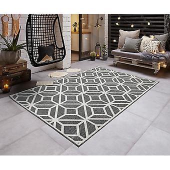 Modern in - & Outdoorteppich flat fabric turn carpet GEO