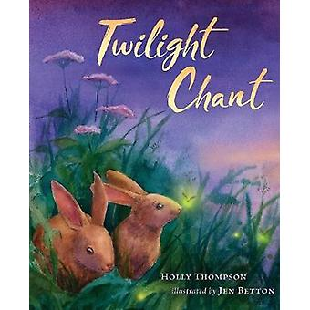 Chant du crépuscule par Holly Thompson - livre 9780544586482