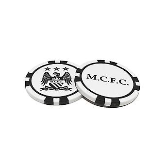 Manchester City FC Poker Chip Ball Markers