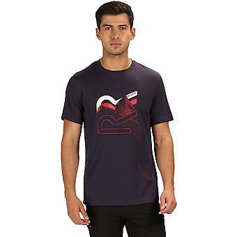 Regatta miesten Fingal IV lyhythihainen aktiivinen graafinen T-paita