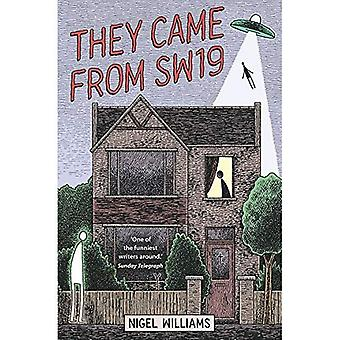 They Came From SW19 (Wimbledon Trilogy 2)